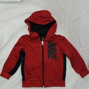 Nike Baby Dri-fit Zippered Hooded Jacket